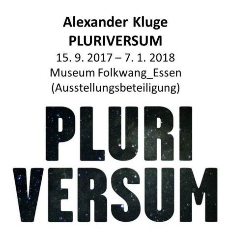 Alexander Kluge & Thomas Thiede _ Folkwang Museum, Essen
